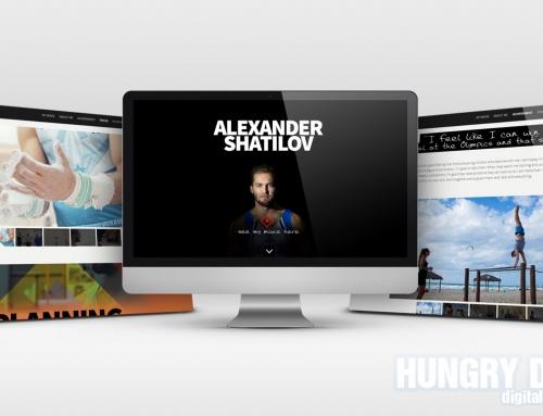 HTML5 Responsive Parallax Website